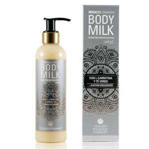 MIRACLE BODY MILK REDUCTOR ANTICELULÍTICO Golden Pyramide